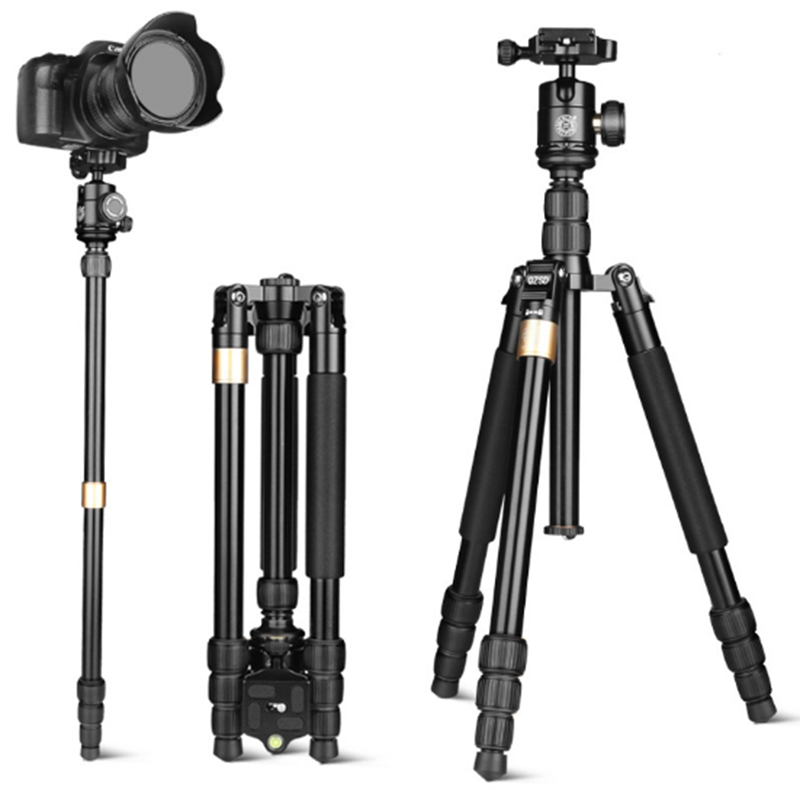 Professional Portable Travel Aluminum Camera Tripod multifunctional Universal Camera Tripod for DSLR Video Camera Accessories new professional portable travel aluminum camera tripod