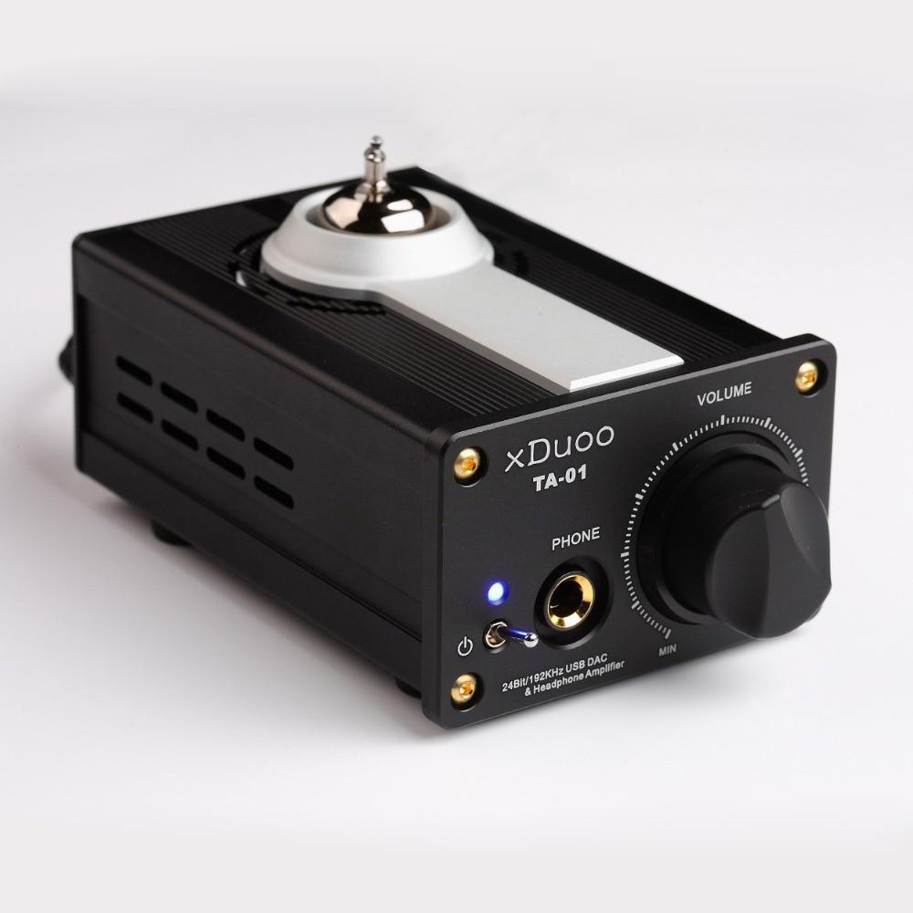 xDuoo TA-01 Tube Amplifier 2015 Baru Hi-Fi 24Bit / 192KHz USB DAC - Audio dan video mudah alih - Foto 2