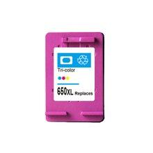 Для HP 650 XL Цвет картридж с чернилами для HP 650 650xl Deskjet 1015 1515 2515 2545 2645 3515 3545 4515 принтер для HP 1515 картридж