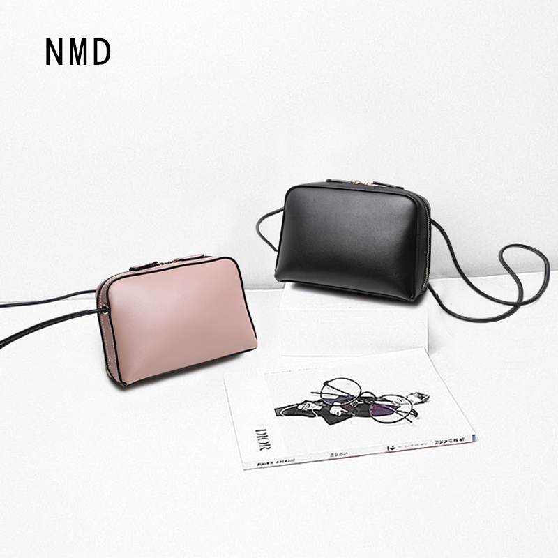 NMD Original women shoulder messenger bag genuine leather handbag female fashion crossbody bag ladies solid small tote bag purse стоимость