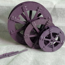 CHILDREN Educational 1X PP Plastic Water Wheel Mill(China)