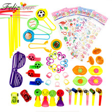 50 PCS Toys Assortment for Kids Birthday Party Supplies Classroom Rewards Carnival Prizes Loot Bag Pinata Toys Fillers Gift Toys(China)
