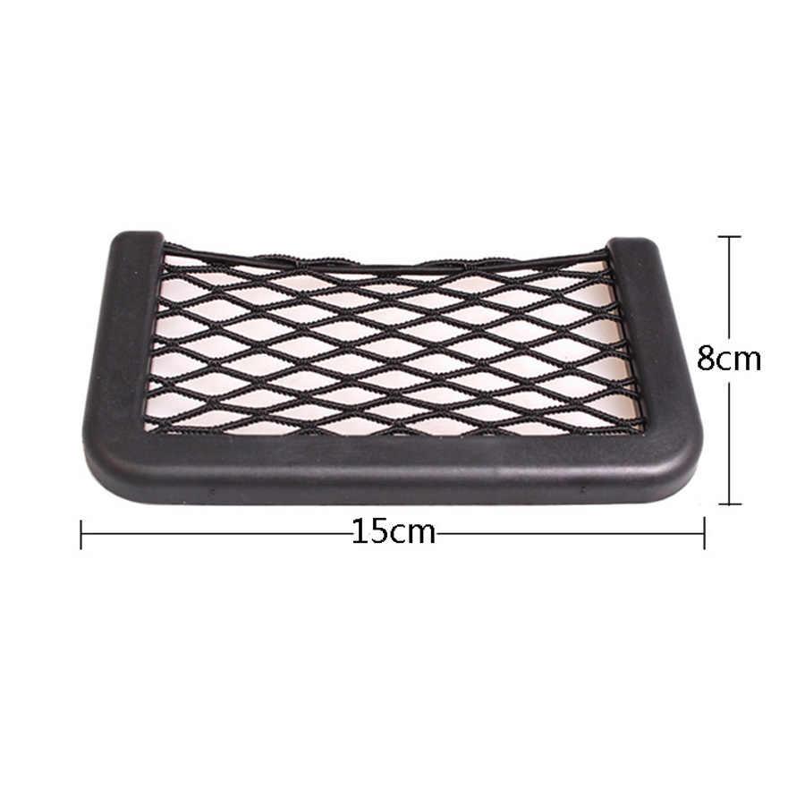 1 шт. универсальная сумка для хранения автомобиля сетчатый карман для телефона кошелек для переноски грузовика авто внедорожник аксессуары для салона автомобиля