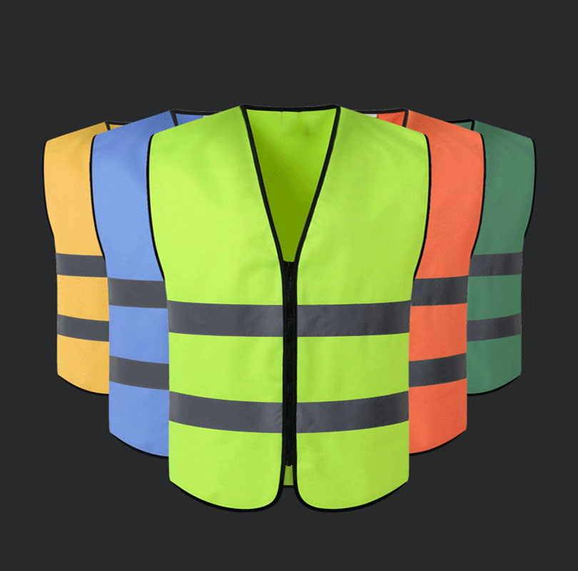 Reflective vest building construction engineering safety vest road sanitation cleaning car inspection fluorescent clothing цена