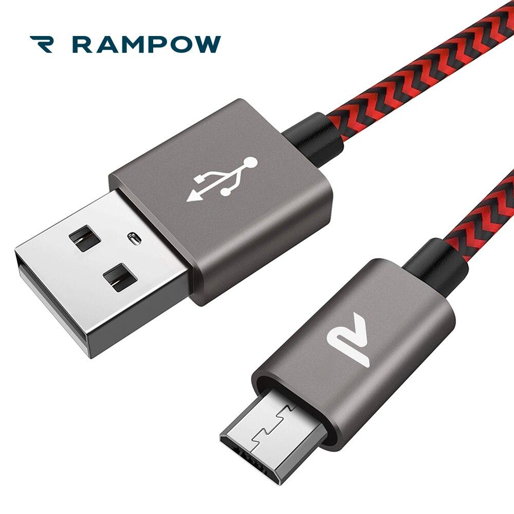 Ehre 8x- Rampow Qc3.0 Micro Usb Kabel Für Xiaomi Redmi 5 Schnelle Lade Telefon Ladegerät Kabel Für Samsung S7/s6 fÖrderung