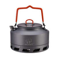 Bulin Outdoor Camping Wasserkocher Kaffee Tee Topf Ultraleicht Camp Ausrüstung 1L