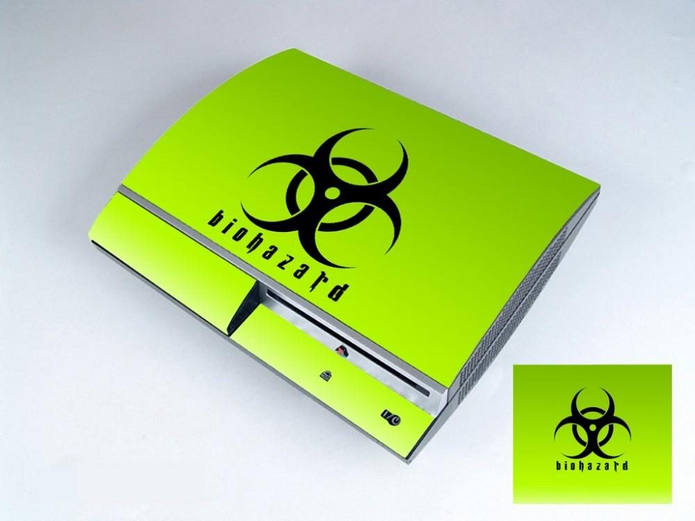 Humorvoll Biohazard 253 Vinylhaut-aufkleber-schutz Für Sony Ps3 Original-fett Für Playstation 3 Skins Aufkleber SorgfäLtige Berechnung Und Strikte Budgetierung Unterhaltungselektronik Videospiele