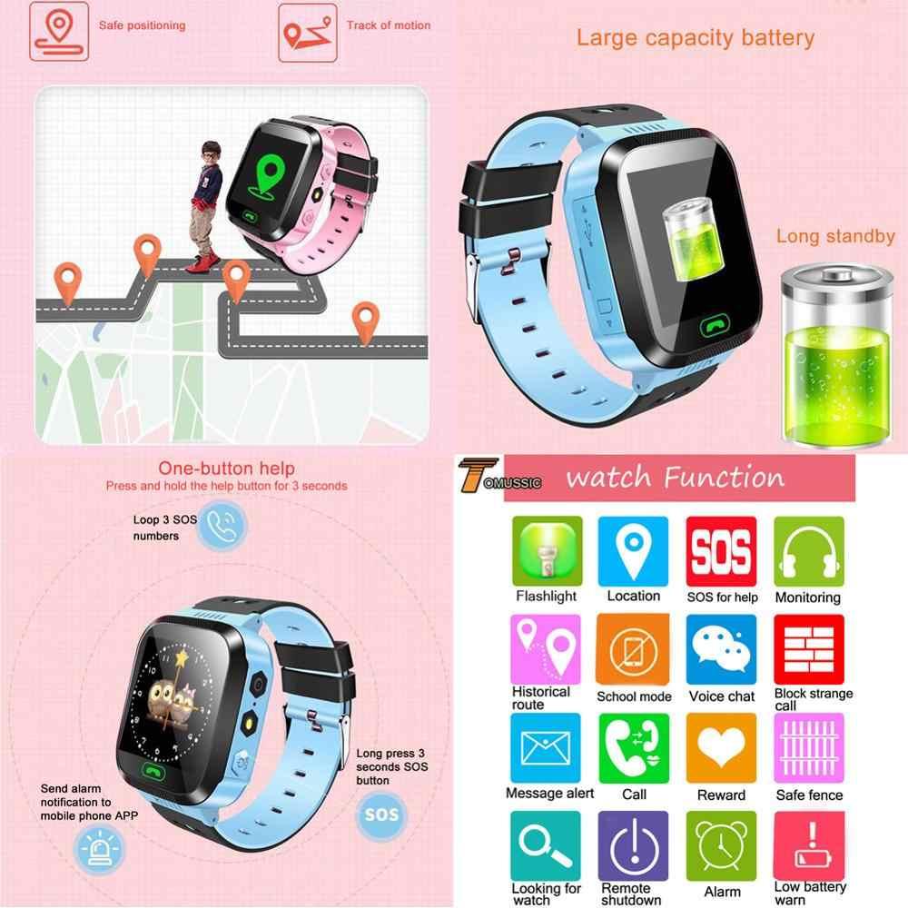 Детские умные часы, спортивные, для позиционирования sim-карты, детские часы, наручные, фитнес-треки, расположение, SOS Вызов, безопасный уход за мальчиком и девочкой