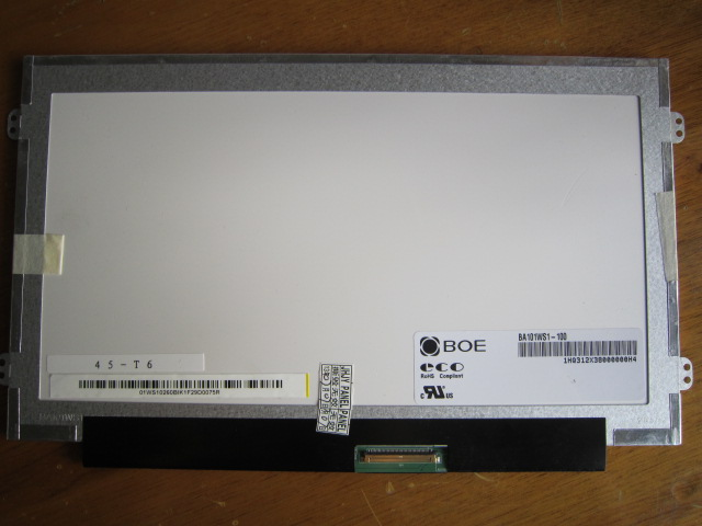 Free shipping BA101WS1 100 BA101WS1 N101LGE L41 B101AW06 V 1 for Lenovo S100 S110 Display screen