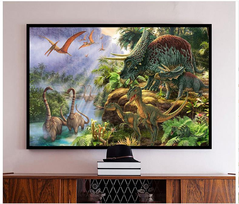 High quality hot sale new custom 3d photo wallpaper murals for Dragon mural wallpaper