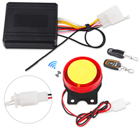 Anti Theft Motorcycle Security Alarm System Remote Control Motorbike Bike Moto Scooter Motor Alarm System With