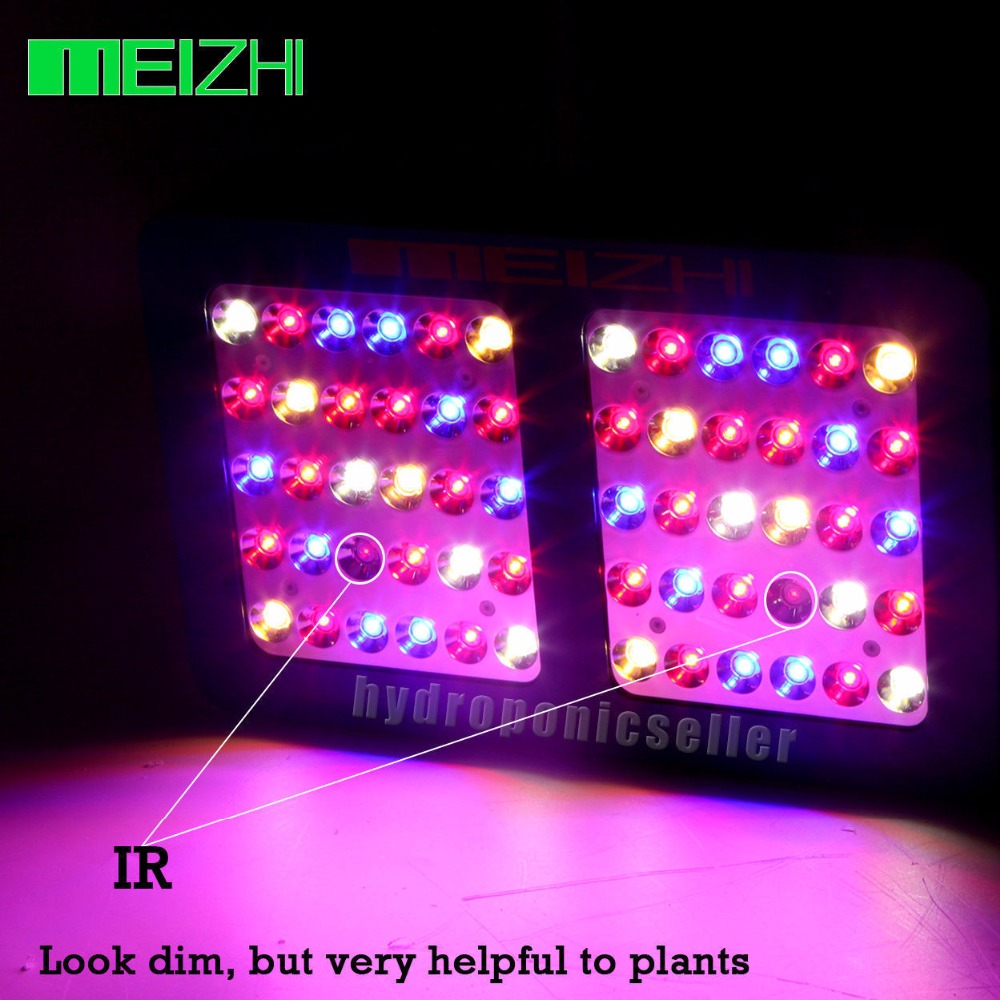MEIZHI Reflector 300W LED Grow Light Full Spectrum Hydroponics Indoor Plant Lamp Hydroponic System for Greenhouse wholesale 300w high power led grow light red blue uv ir for hydroponics greenhouse grow tent 300w plant lamp free shipping