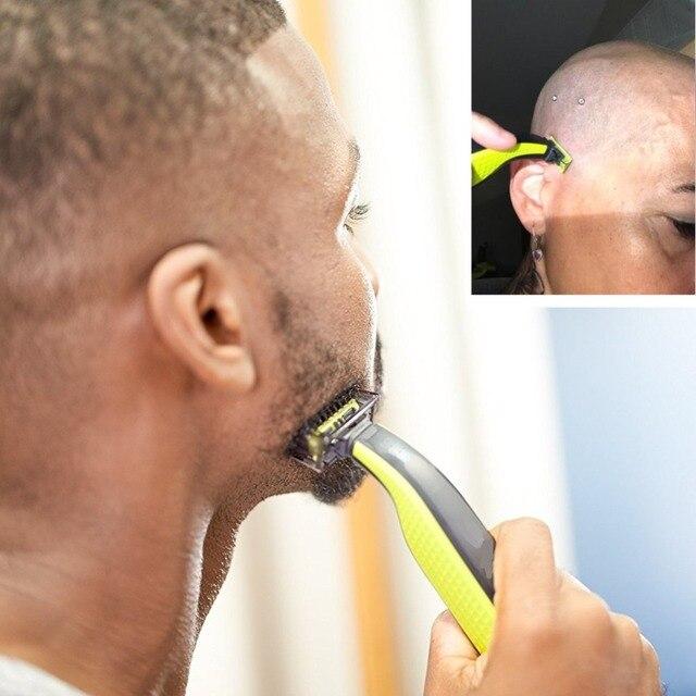 one blade grooming kit body shaver electric razor men edge beard trimmer stubble micro face shaving back hair trimer shape beard 1