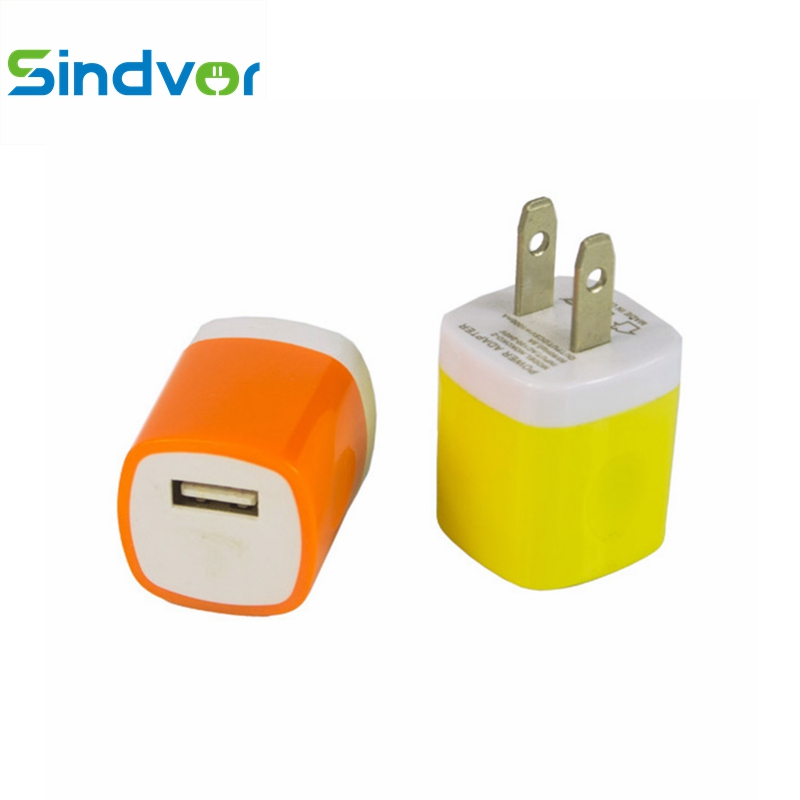 Sindvor Mini USB Charger For Samsung iPhone X 8 7 Wall Power Adapter US Plug Travel Charge