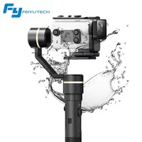 FeiyuTech G5GS Gimbal for Sony AS50 AS50R Sony X3000 X3000R Splash Proof 3 Axis Handheld Stabilizer for 130g 200g SONY Camera