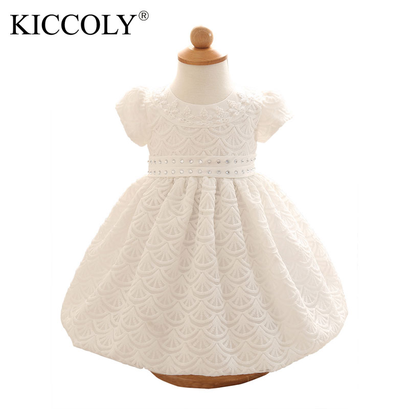 2016 NEW summer Baby Girls Kids Princess Dress wedding party newborn baby girl dress irls dresses childs clothing