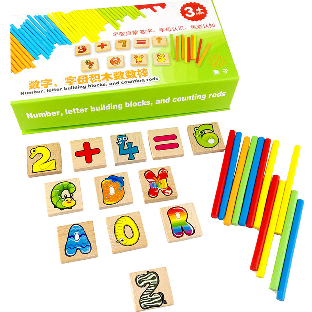 english alphabet toy letters wooden kids math toys montessori multi function recognition toy wooden card kids