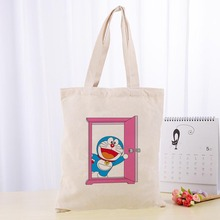 High Quality Doraemon Canvas Tote Bag Fashion Durable Women