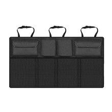 Car Trunk Organizer Universal Large Capacity Adjustable Backseat Oxford Storage Bag