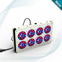 Apollo 8 360W 10bands 10Bands Full Spectrum LED Grow Light For Medical Flower Plants Grow And