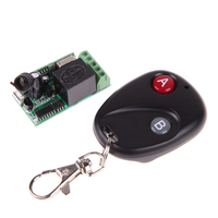 New Practical Wireless DC12V 315MHz 433MHz Remote Control Switch with 2-Button Remote Control Receiver MFBS