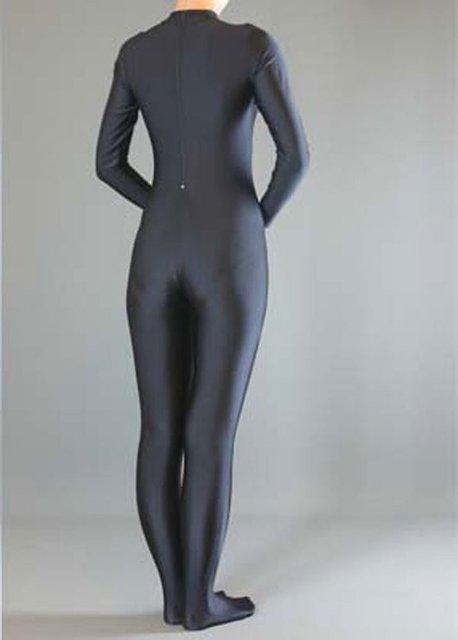 Long Sleeve Unitard Turtleneck Spandex Lycra Zentai Bodysuit
