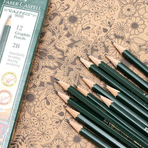 Image 5 - Faber castell 12 Pcs Brand (6H 8B) Sketch and Drawing Pencil Personalized Standard Pencils Black Drawing Pencil