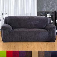1 stück Sofabezüge plüsch stretch 4-seat sofa decken volle deckung sofa einfarbig hause kunst sofa dekoration lieferungen A35