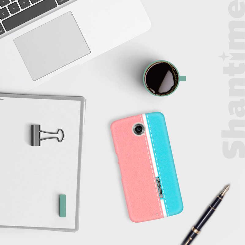 فاخر بو الجلود جراب لهاتف Motorola نيكزس 6 موضة جراب لهاتف Motorola الهاتف الملونة نيكزس 6 الأعمال