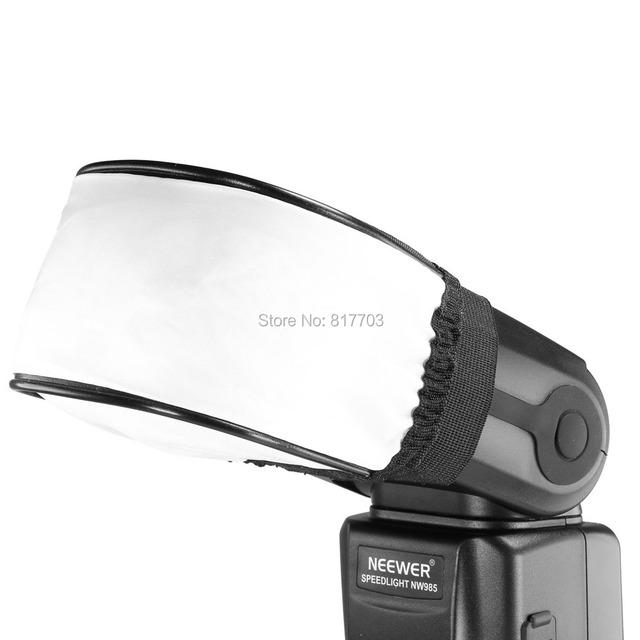For Canon Nikon Sony Pentax Olympus Contax Free ShippingHigh-Quality Universal Nylon Cloth Soft Flash Bounce Diffuser Softbox
