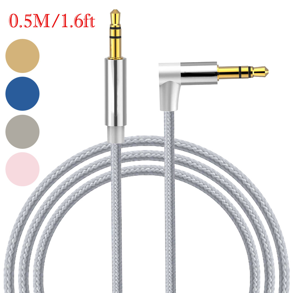 AUX Cable Jack 3.5mm Audio Cable 3.5 mm Jack Speaker Cable for JBL Headphones Car Xiaomi redmi 5 plus Oneplus 5t AUX Cord drain pipe heater