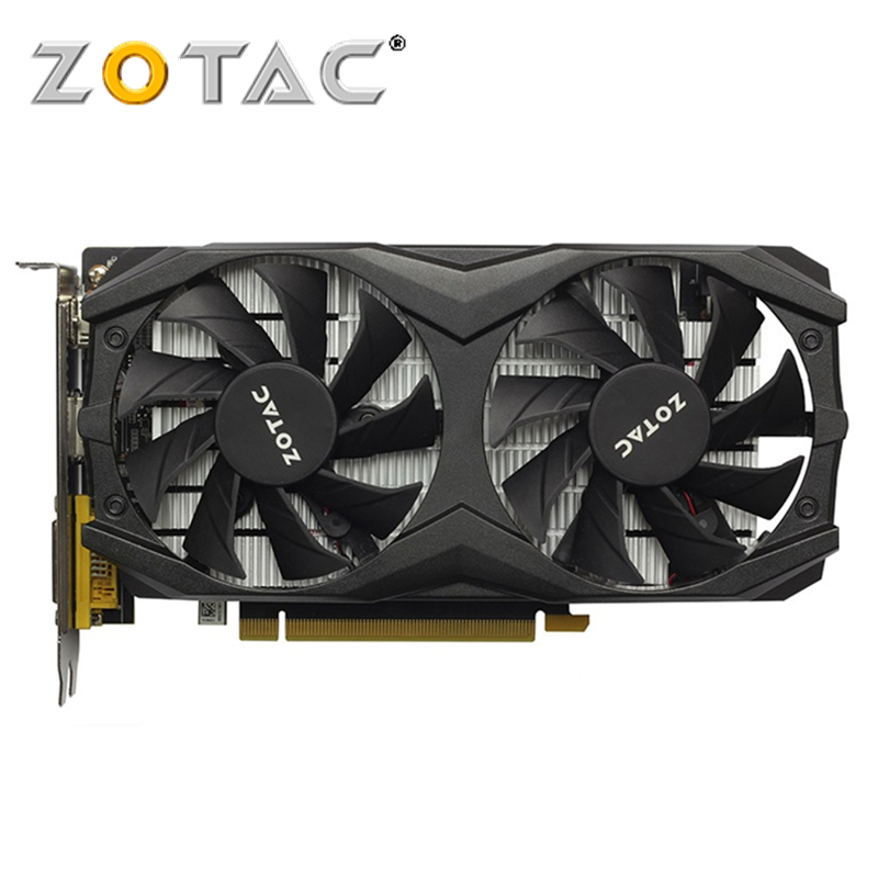 ZOTAC Video Card GTX 1050Ti 4GB GPU Graphics Cards Map For GeForce NVIDIA Original GTX1050 4GD5 128Bit Videocard PCI-E X16 HDMI