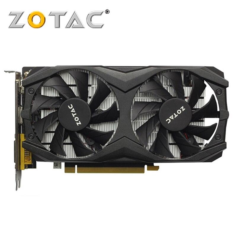 ZOTAC Video Card GTX 1050Ti 4GB GPU Graphics Cards Map for GeForce nVIDIA Original GTX1050 4GD5 128Bit Videocard PCI E X16 HDMI