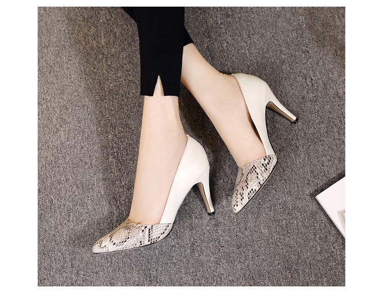 comfortable high heels pointed toe high quality snake grain elegance shoes - free shipping! Comfortable High Heels Pointed Toe High Quality Snake Grain Elegance Shoes – Free Shipping! HTB1BRHBNXXXXXbCaXXXq6xXFXXXG