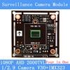 2MP1920*1080 AHD CCTV 1080 P moduł kamery płytka drukowana, 1/2. 9 CMOS cztery w jednym IMX323 + V30 2000TVL płytki PCB PAL/NTSC opcjonalnie