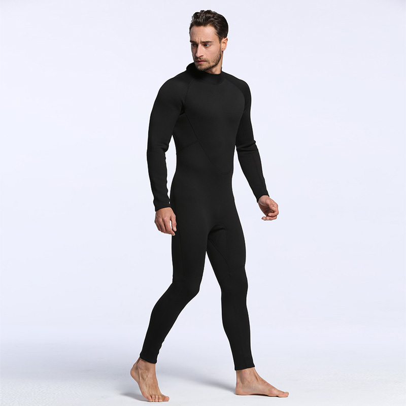 все цены на Men Spearfishing Wetsuit 2MM Neoprene SCR Superelastic Diving Suit Waterproof Warm Professional Surfing Wetsuits Male Full Suit