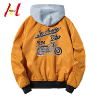 MANVALUE Spring and Autumn European and American Pilot Jackets Men's Printed Coats Young Male Leisure Wear Plus Size S 5XL