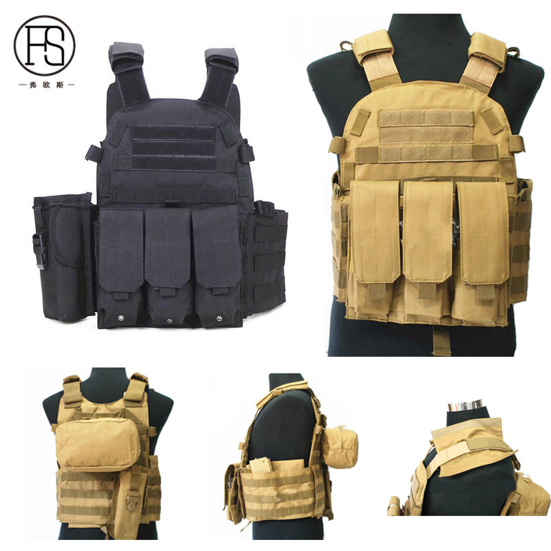 Good Quality Men Outdoor Hunting War Game Tactical Vest Military Equipment Tactical Army Combat Protection Vest