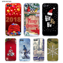 Transparent Soft Silicone Phone Case Happy Ho Christmas for iPhone XS X XR Max 8 7 6 6S Plus 5 5S SE