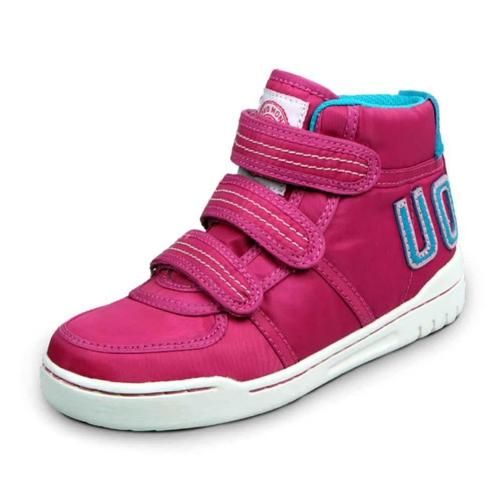 UOVO Autumn Winter Children's Casual Shoes Boys And Girls Sneakers Mid-Cut Fashion Kids School Shoes Kids Footwear Size 28#-39#