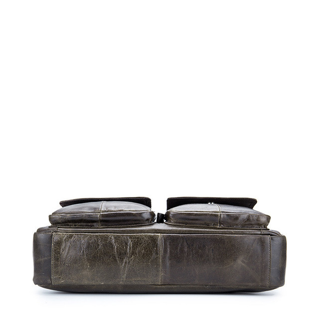 First Layer Oil Wax Cow Leather Briefcases