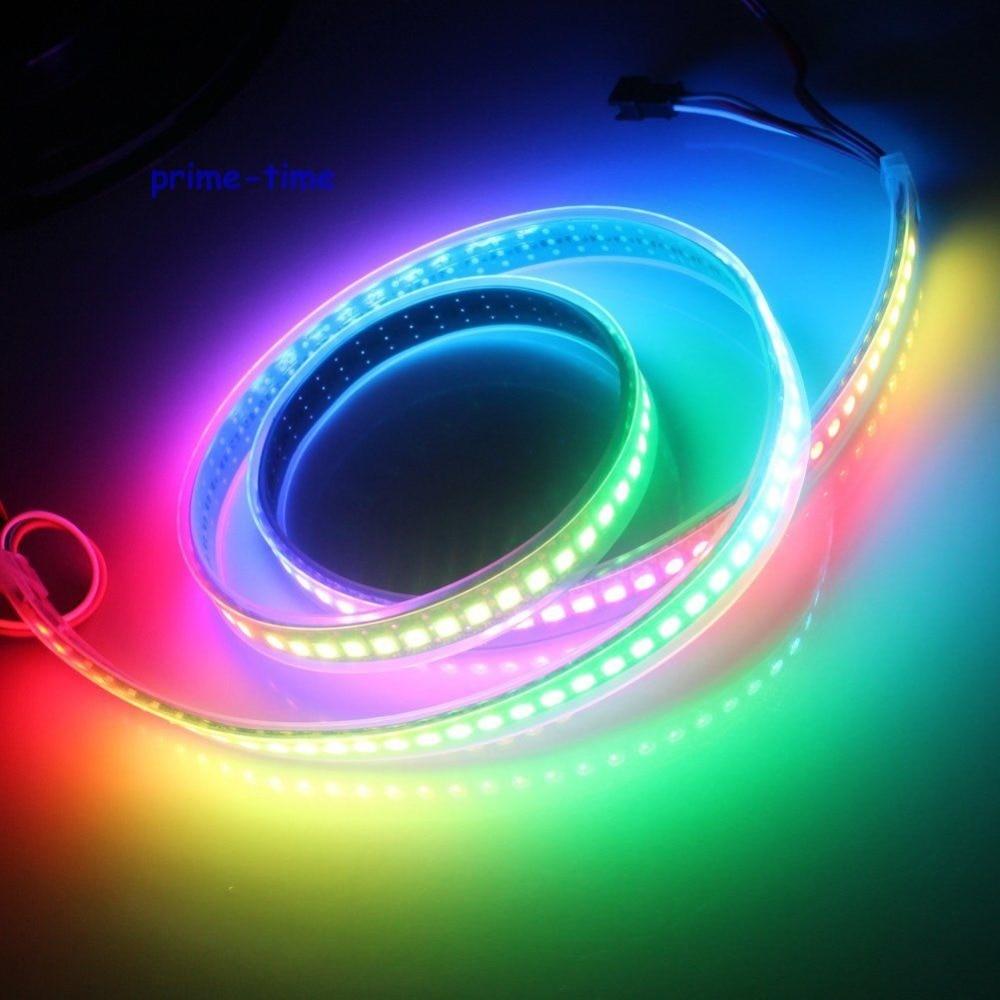 1M WS2812B 144 Pixels Сандық жарықдиодты жолақ, - LED Жарықтандыру - фото 3