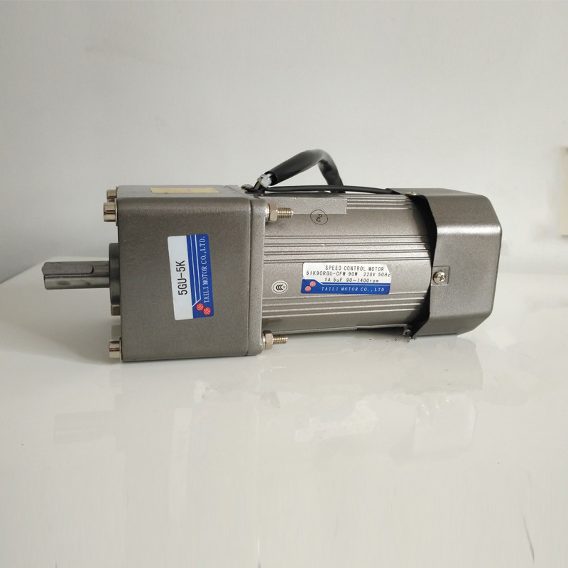 60 watts Taili AC speed <font><b>gear</b></font> reduction <font><b>motor</b></font> 5IK60RGU-CF 30GU-30K force miniature <font><b>220V</b></font> single phase with speed controller image