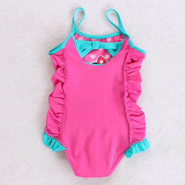5076bea3bafd Online Shop Baby Girls Swimwear Summer Kids One Piece Swimsuit ...
