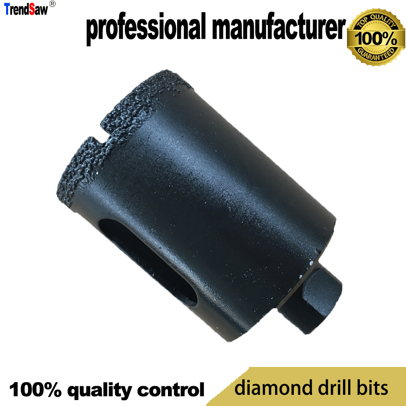 Vacuum Brazed Diamond Drill Bits Head For Stone Cement Segmented And Marble Hole Making M10 At Good Price