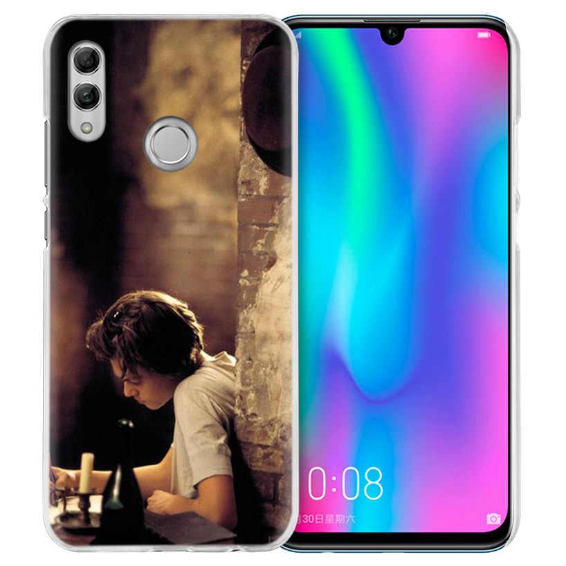 レオナルド · ディカプリオケース Huawei 社の名誉 8X Y9 9 10 Lite 再生 7C 8C 8 S 8A 7 S 7A プロ V20 20i Y6 Y7 Y5 2019 ハード PC 電話カバー新