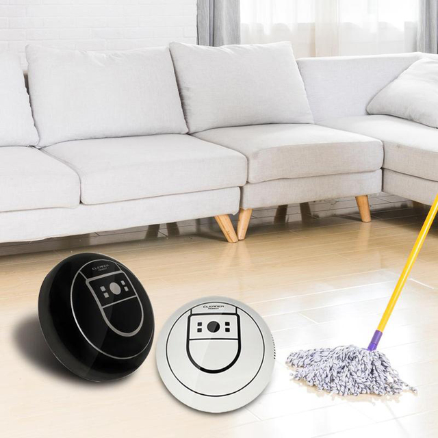 Multi-directional Mini Smart Sweeping Robot Electric Wireless Automatic Suction Machine Household Vacuum Cleaner kdcw1