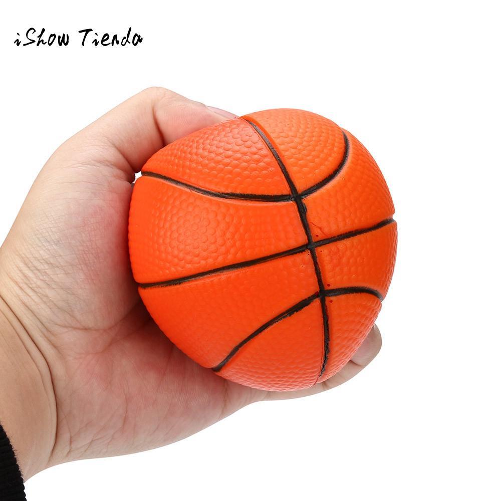 ISHOWTIENDA Basketball mochi Squishy Slow Rising Cream Scented Kids funny gift anti stress ball interesting prank toy squish