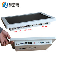 """Desktop computer with cpu intel C1037U 1.8GHz 15""""LED Panel touch screen all in one pc with Resolution 1024x768 WiFi/USB/HDMI/VGA(China (Mainland))"""