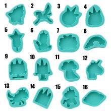 New 3D Creative Unicorn Fondant Silicone Mold